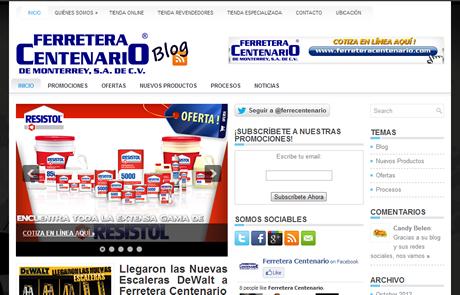 Nuevo Blog de Ferretera Centenario