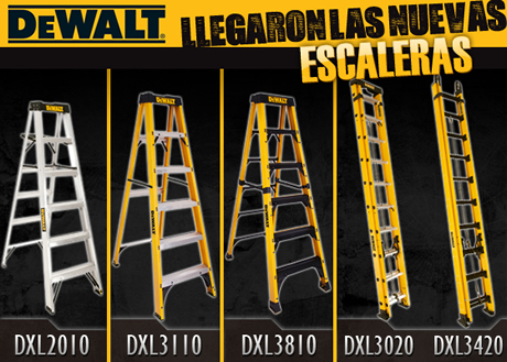 Llegaron las Nuevas Escaleras DeWalt a Ferretera Centenario