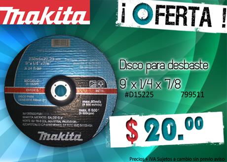 Oferta en Disco para Desbaste marca Makita