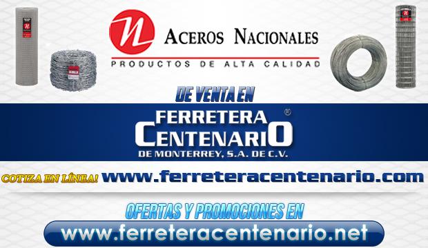 ACEROS NACIONALES de venta en Ferretera Centenario de Monterrey