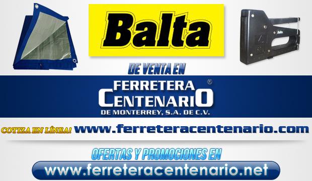Venta de productos BALTA en Ferretera Centenario de Monterrey