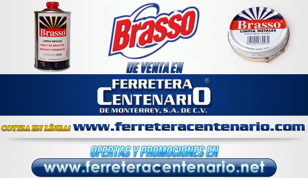 Productos BRASSO de venta en Ferretera Centenario de Monterrey