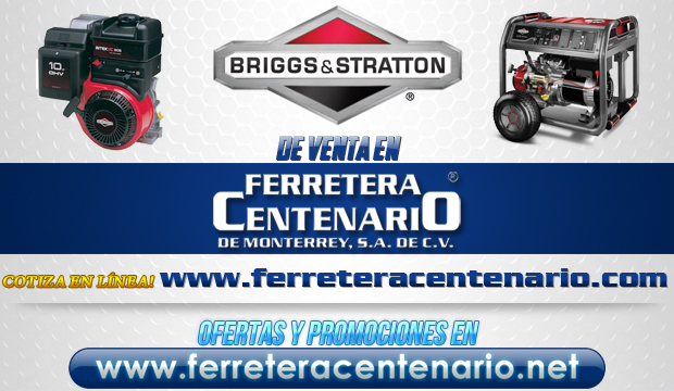 Productos BRIGGS & STRATTON de venta en Ferretera Centenario de Monterrey