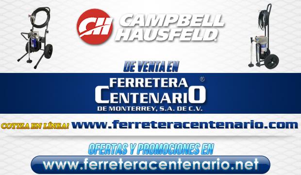 Productos CAMPBELL HAUSFELD de venta en Ferretera Centenario de Monterrey