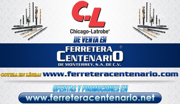 Productos de la marca CHICAGO-LATROBE de venta en Ferretera Centenario de Monterrey