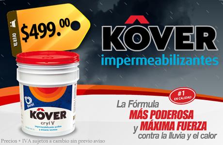 Impermeabiliza tu casa con KOVER