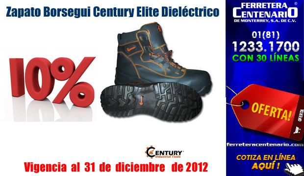 Zapatos Borsegui Century Elite Dieléctricos al 10% de Descuento