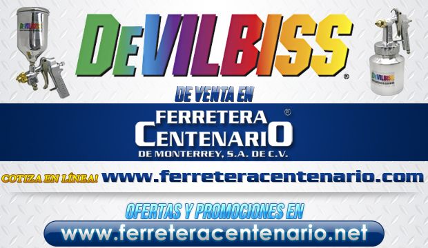 Productos DEVILBISS de venta en Ferretera Centenario de Monterrey
