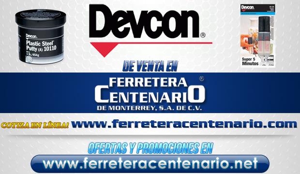 Productos DEVCON de venta en Ferretera Centenario de Monterrey