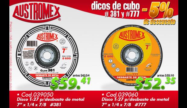 Discos de Cubo Austromex