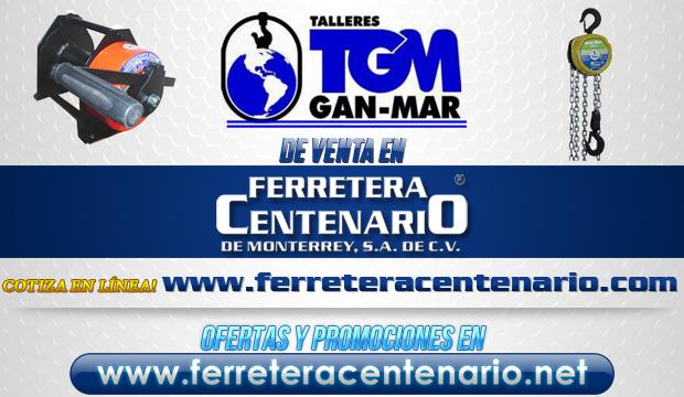 Productos de Talleres TGM GAN-MAR de venta en Ferretera Centenario