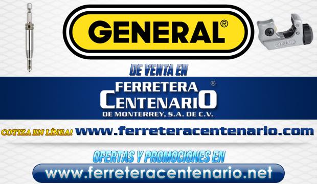 Productos de la marca GENERAL de venta en Ferretera Centenario