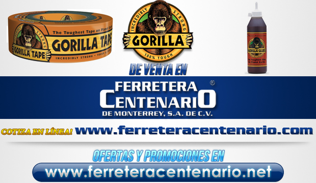 Gorilla tape and Glue venta Monterrey