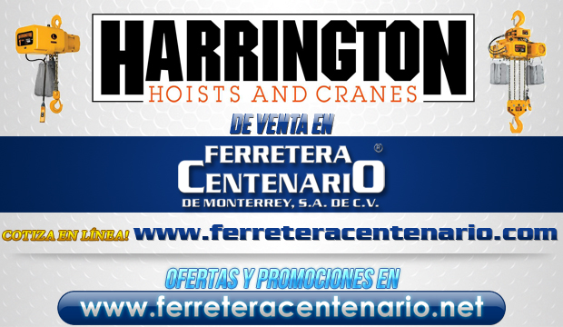 GRuas y montacargas Harrington
