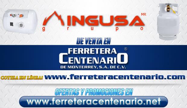 Tanques INGUSA de venta en Ferretera Centenario de Monterrey