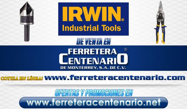 Herramientas de la marca IRWIN de venta en Ferretera Centenario