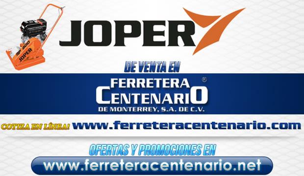 Equipos JOPER de venta en Ferretera Centenario de Monterrey