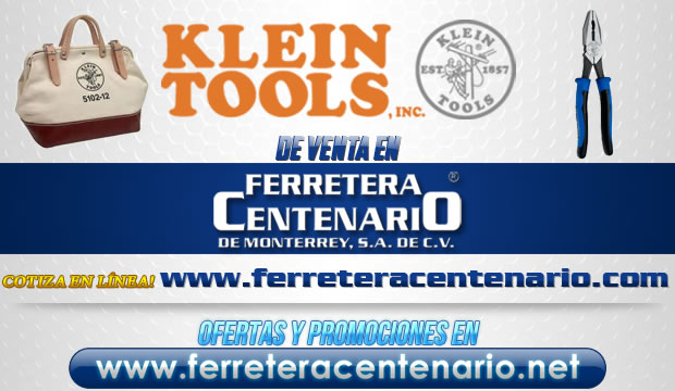 Herramientas y Accesorios KLEIN TOOLS de venta en Ferretera Centenario