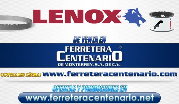 Productos LENOX de venta en Ferretera Centenario de Monterrey