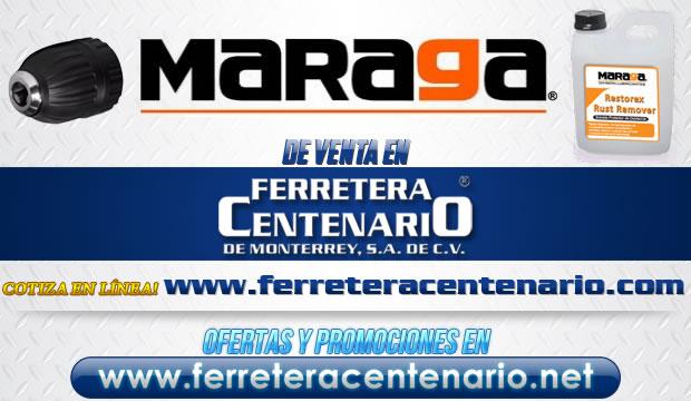 Productos MARAGA de venta en Ferretera Centenario