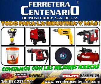 Herramientas de las mejores marcas solo en Ferretera Centenario de Monterrey