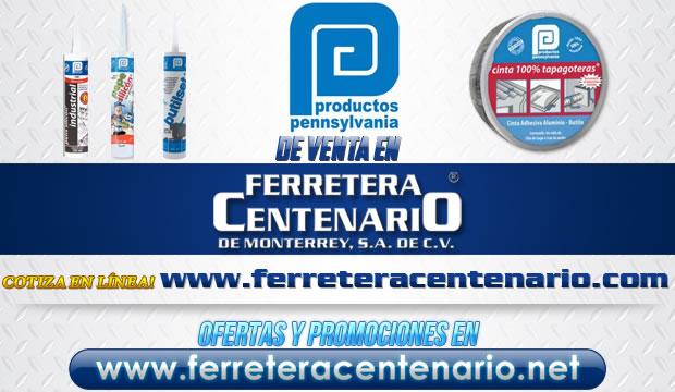 Productos PENNSYLVANIA de venta en Ferretera Centenario