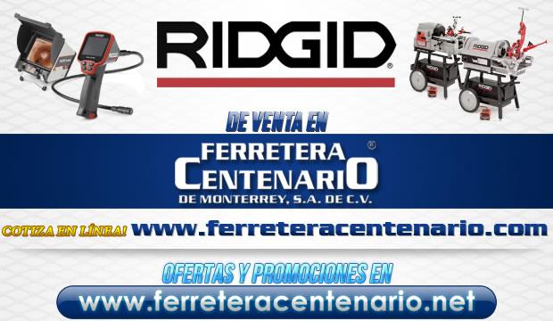 Ridgid herramientas venta Monterrey Mexico
