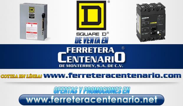 Square D venta Monterrey Mexico