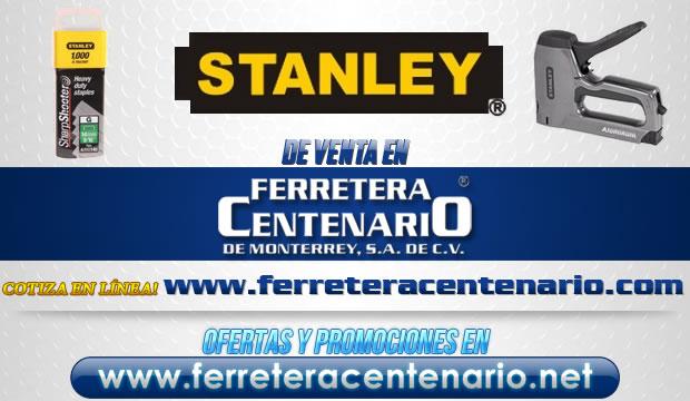 Productos STANLEY de venta en Ferretera Centenario