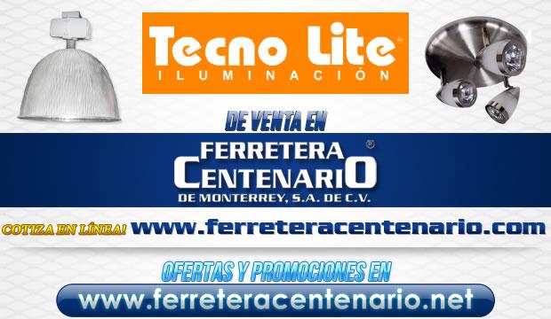 Iluminación TECNO LITE de venta en Ferretera Centenario
