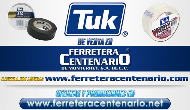 Productos TUK de venta en Ferretera Centenario de Monterrey