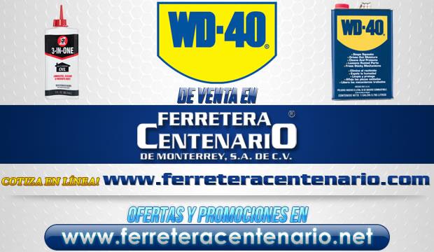 Productos WD-40 de venta en Ferretera Centenario de Monterrey