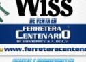 Herramientas WISS de venta en Ferretera Centenario