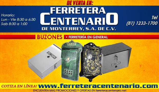buzones ferreteria ferretra centenario monterrey