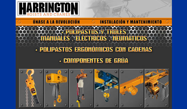 Polipastos y troles HARRINGTON