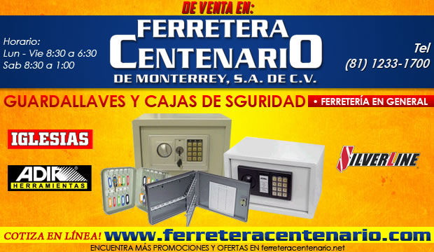 guardallaves, cajas de seguridad, venta monterrey, ferreteria centenario, ferretera