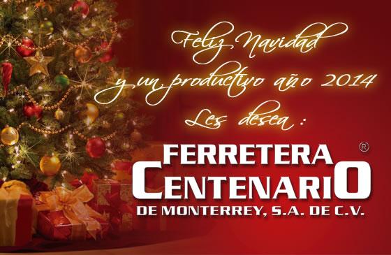 Feliz Navidad y Productivo año 2014