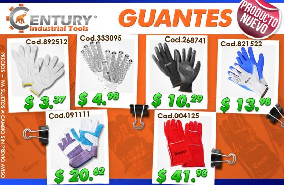 guantes century industrial tools ferretera centenario de monterrey