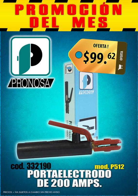 Oferta Portaelectrodo de 200 Amps marca Pronosa