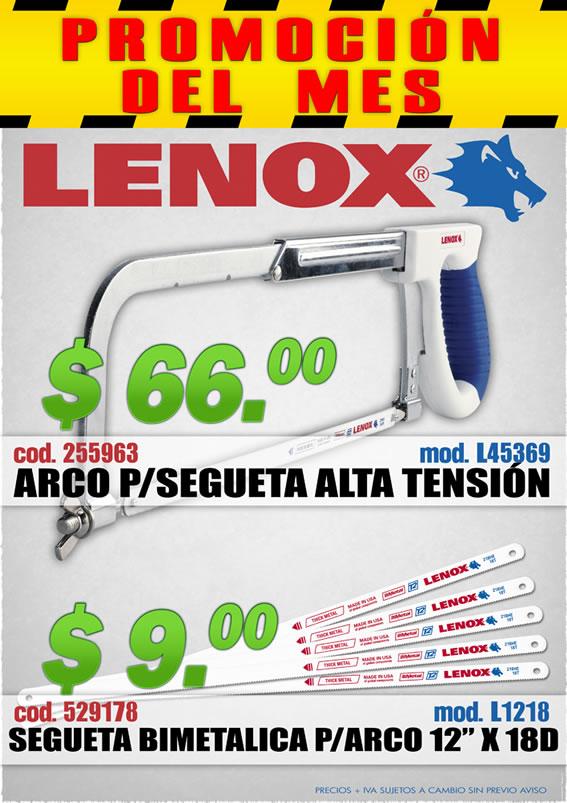 Promoción Marzo 2014 de productos Lenox