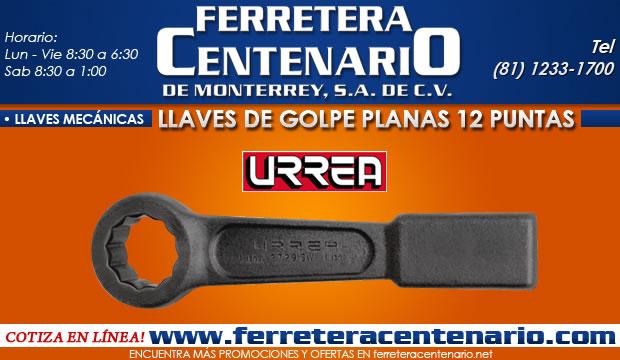 llaves de golpe planas 6 puntas 12 puntas ferretera centenario de monterrey herramientas manuales mecanicas