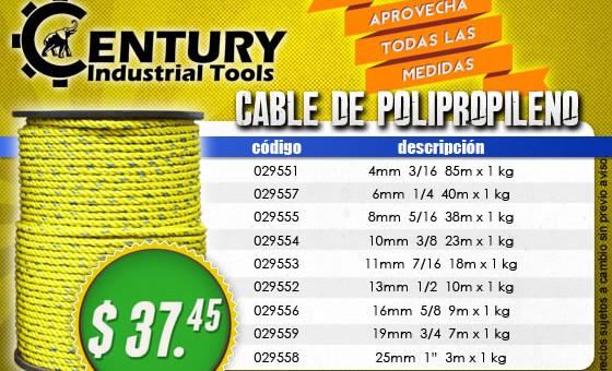 Gran oferta en cable de polipropileno