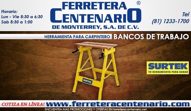Bancos de trabajo para carpintero