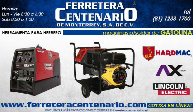 maquinas soldar gasolina ferretera centenario de monterrey herramientas
