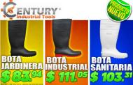 Bota jardinera, bota sanitaria y bota industrial en oferta