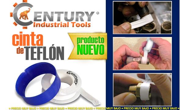 cinta de teflon ferretera centenario de monterrey herramientas