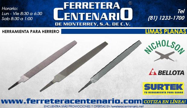 limas planas herramientas herrero herreria ferretera centenario de monterrey surtek bellota nicholson