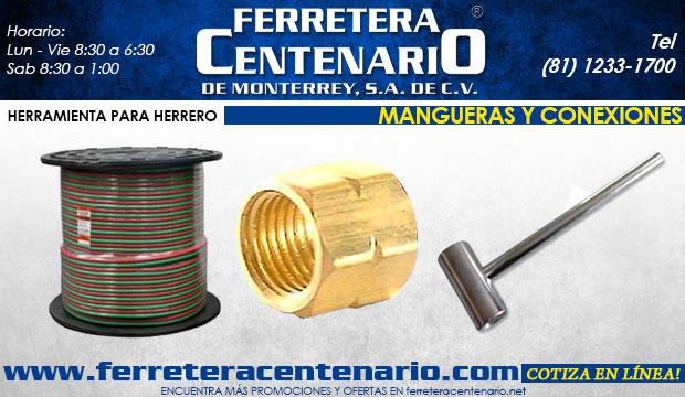 mangueras conexiones herramientas accesorios ferreteria centenario de monterrey
