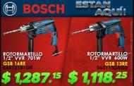 Rotormartillos Bosch ahora en Ferretera Centenario de Monterrey