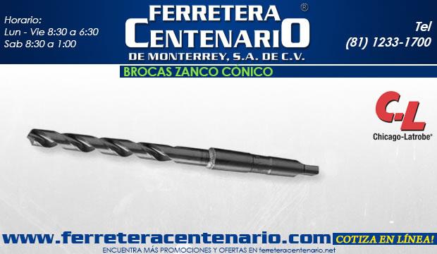 broca zanco conico accesorios y herramientas para corted e metal ferretera centenario de monterrey